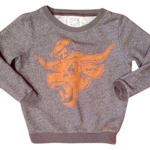 PINK Texas Longhorns bevo sweatshirt